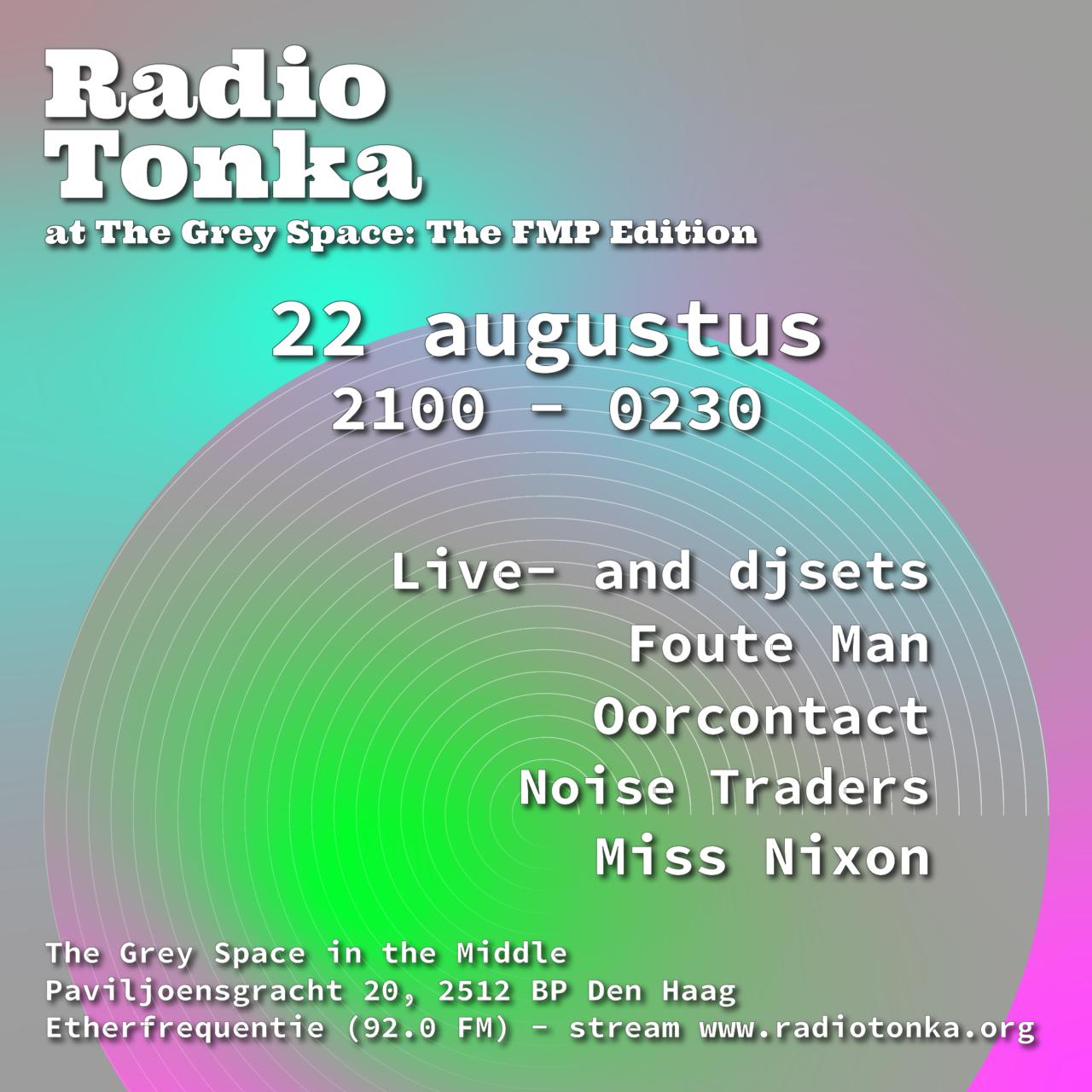 Radio Tonka: The FMP edition
